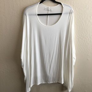 Abercrombie and fitch batwing sleeve poncho shirt